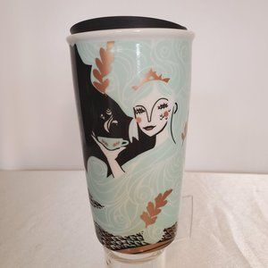 Starbucks Siren Mermaid Travel Tumbler Mug